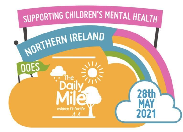 We will take part in the NI Daily Mile Thursday 10th June 2021