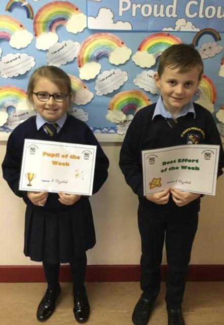 🌟 Well Done Rose and Rory! 🌟