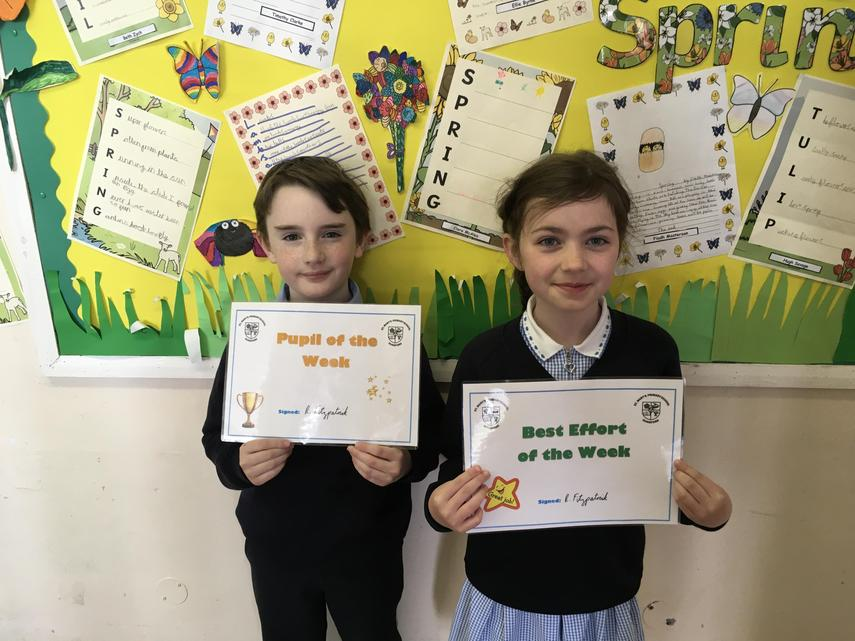 🌟 Well Done Thomas and Iona! 🌟