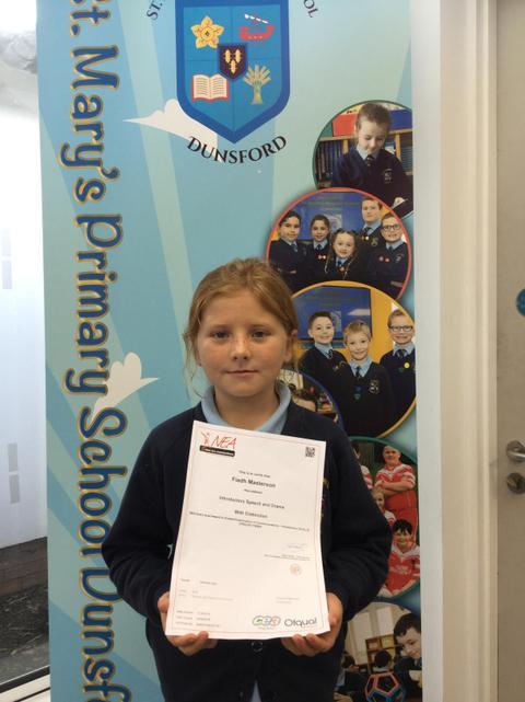 Speech and drama award