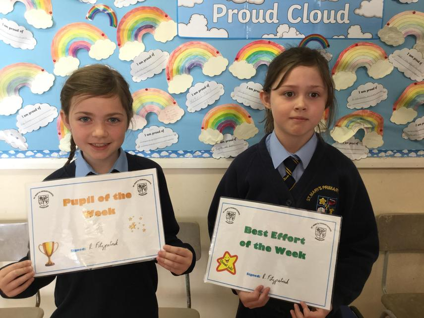 🌟 Well Done Iona and Beth! 🌟