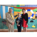 Winner of the 'Maureen Rice' memorial cup.