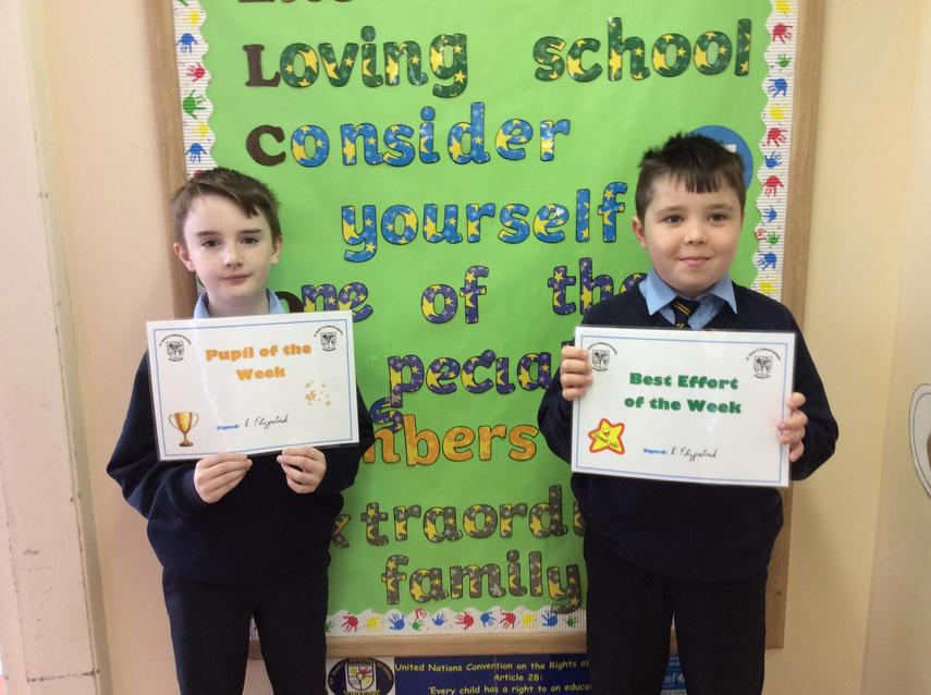 🌟 Well Done Thomas and Ben! 🌟