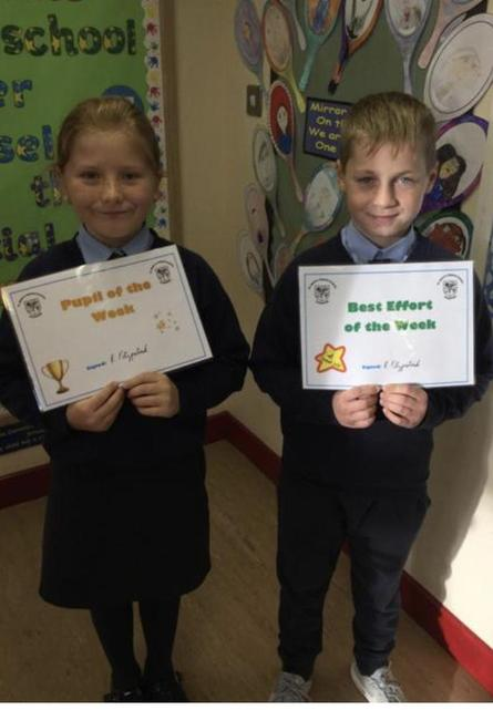 🌟 Well Done Fiadh and Archie! 🌟