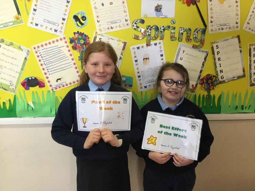 🌟 Well Done Fiadh and Rose! 🌟