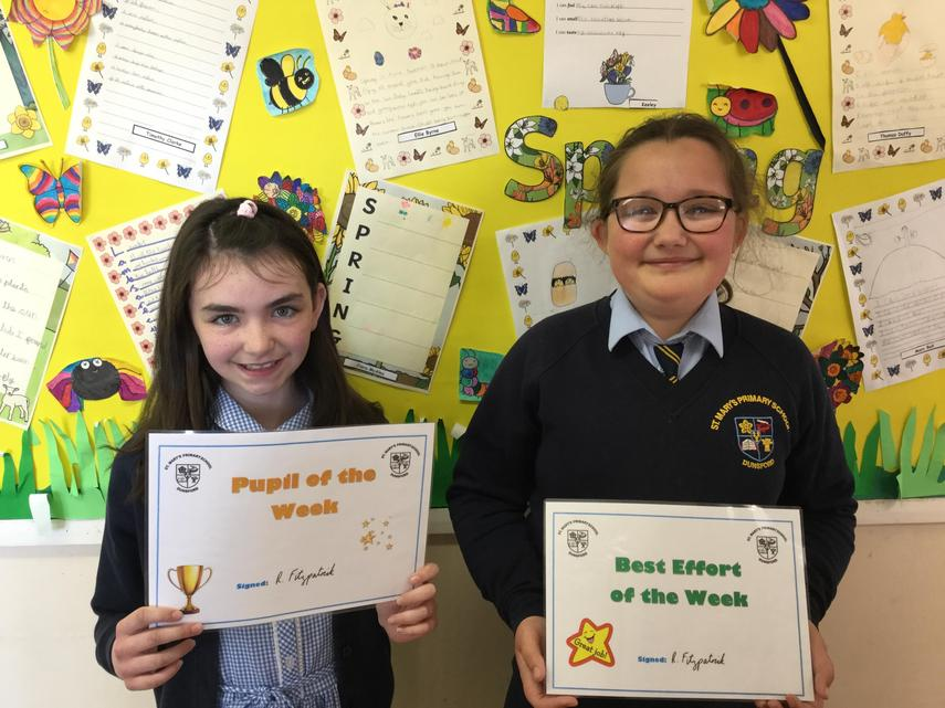 🌟 Well Done Niamh and Zara! 🌟