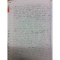 Ollie has written a fantastic adventure story!