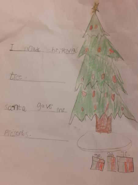 Mohammad wrote about his Christmas.