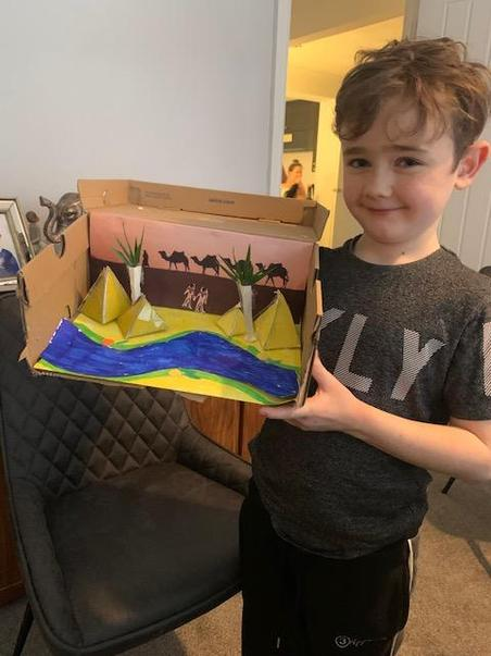 Tommy's Egypt Topic Project Part 1
