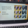 Zach's Power Point on Andy Warhol