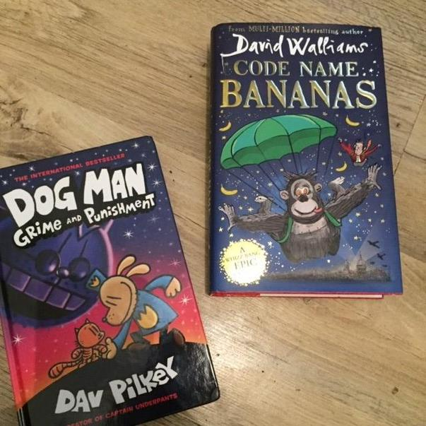 Here are two books that Zak is currently reading.
