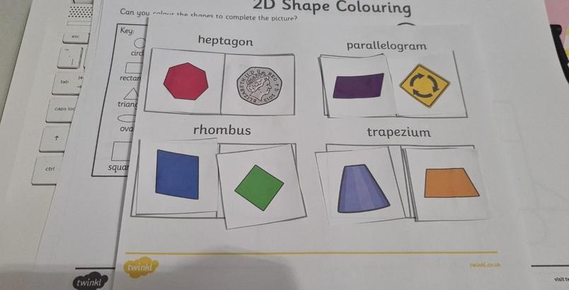 Amazing 2D shape work Savannah. I am impressed.