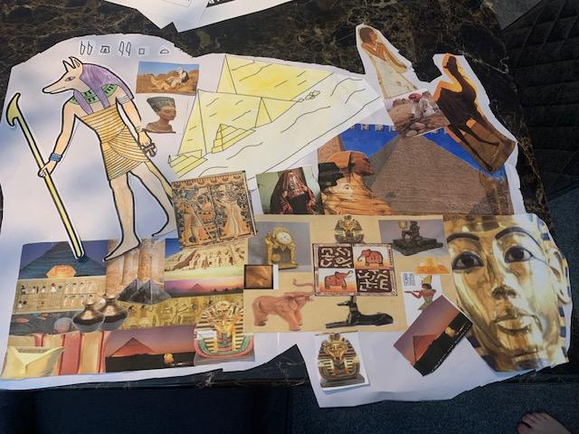 The final mood board for Art by Tommy