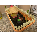 Hollie has been designing her own fairy garden!