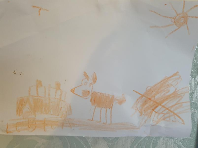 Leyton has been drawing aome fantastic pictures.