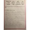 Nicole's Spectacular Sentences!