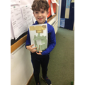 Ollie's amazing art work whilst in school!