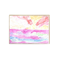 Check out Flo's amazing art work using warm and cool colours!