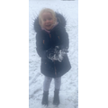 Isla has been having lots of fun in the snow!