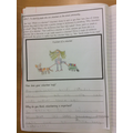 Alex has worked really hard in PSHE!