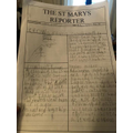 Lyra has been working really hard to create a fantastic newspaper!