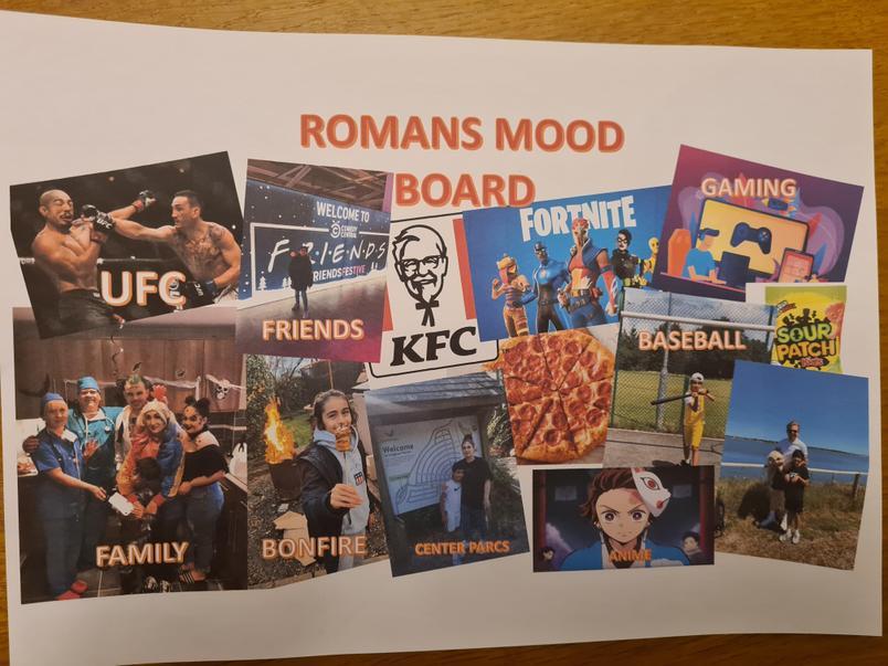 Romans mood board