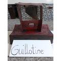 Amelia's Crime and Punishment Guillotine!