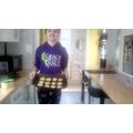 Holly bakes!
