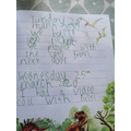 The teachers love to see your writing!