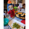 It was Doctor Teddy's birthday party.