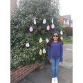 Piya's been doing some Easter themed activities