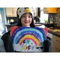A fantastic rainbow to cheer everyone up!