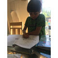 and been getting on with his Power Maths work