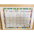 Why not join in with this Lego challenge!