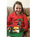 ... and taking part in the 30 day Lego challenge!