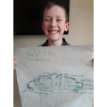 George's Design for a green car
