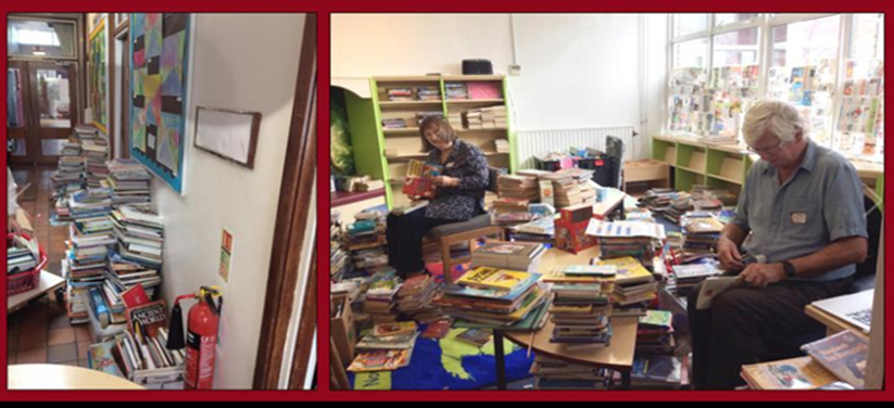 Stage 1: the big book sort