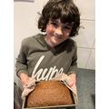 Bertie's banana bread