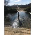 Joe S wading
