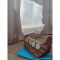 Lucy's longboat
