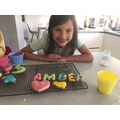 Amber made some delicious looking cookies!