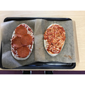 Sam and Lily's pizzas.