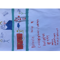 Archie's picture of a courageous person