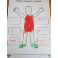 This is Rylan's friendship poster