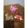 Lily's craft work