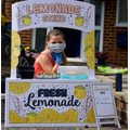 Brooke made a lemonade stand.
