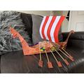 Bertie's longboat