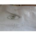 Harriet's drawing of an eye
