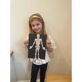 Emily's skeleton