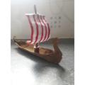 Jay's Viking longboat